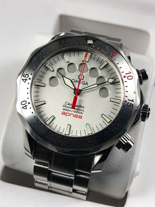 Omega - Seamaster Apnea Mayol Special Edition Chronograph Automatic - 2595.30.00 - Men - 2000-2010