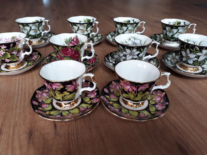 datazione Royal Albert Bone China