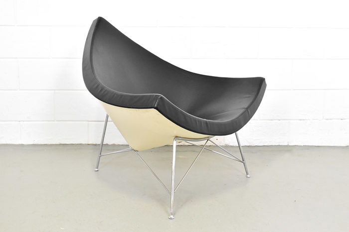 George Nelson. Lænestol, model Coconut Chair. |
