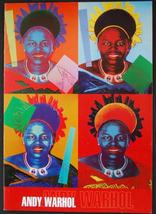 Andy Warhol - Queen Ntombi Twala of Swaziland - 2009