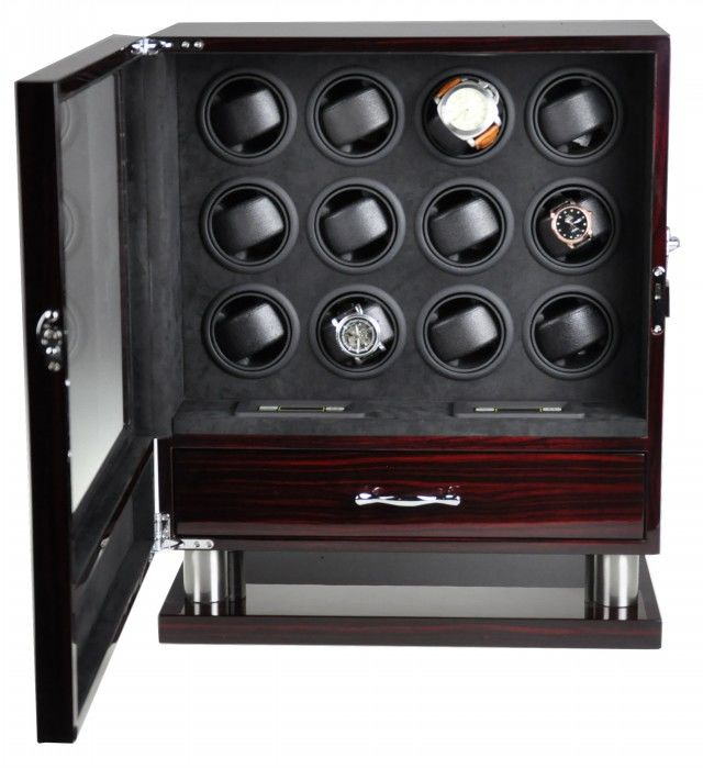 * - Premium + Watch winder for 12 automatic watches - Unisex - 2018