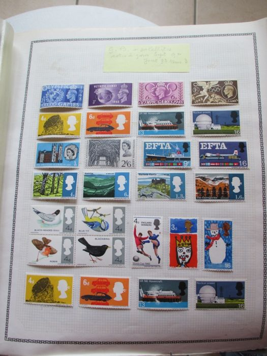 Luxembourg, Netherlands, Switzerland and other countries 1872/1970 - Collection of stamps including blocks