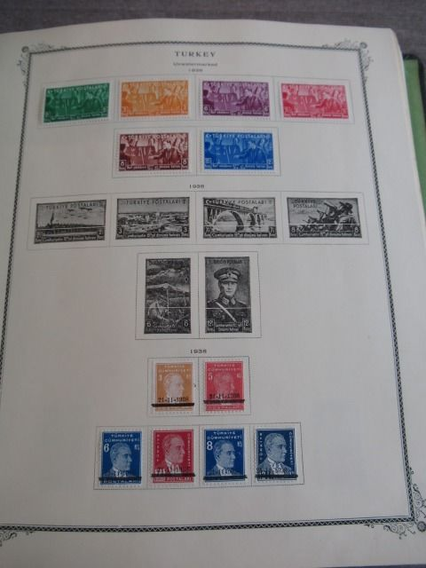 Turkey 1938/1992 - Collection of stamps