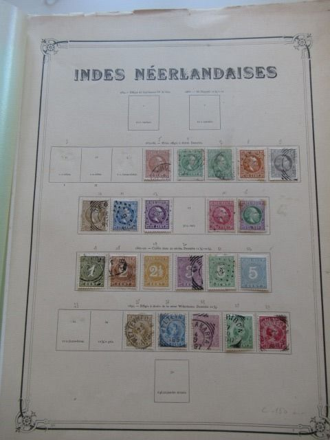 Indies including English and Dutch occupation 1855/1923 - Stamp collection