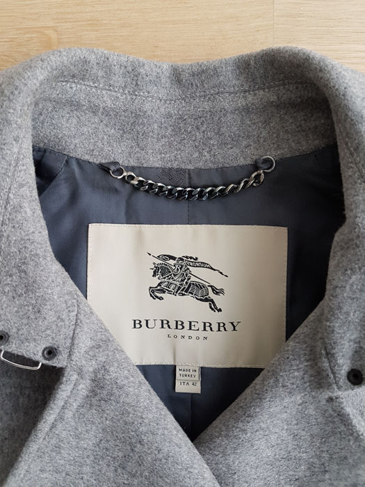 415f685656f53 Trench Trench Trench Coat Manteau En Cachemire Catawiki Burberry 8tAPqH