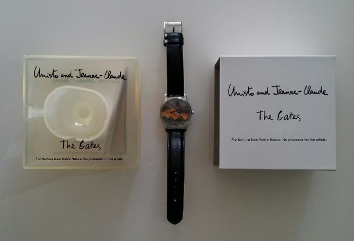 Christo Javacheff - THE GATES WATCH limited