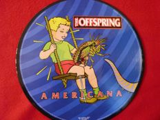 The OFFSPRING  - AMERICANA  - 彩膠唱片限量版 - 1998/1998