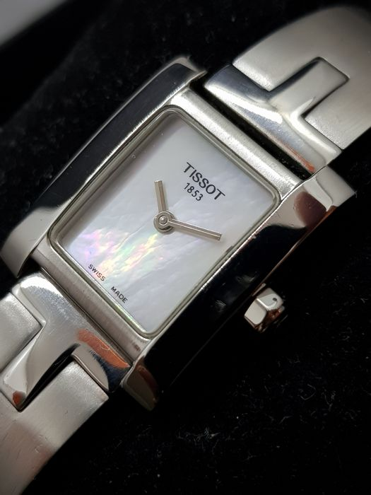 "Tissot - Mother Of Pearl Dial ""MINTY"" - ¨NO RESERVE PRICE¨ - L950K - Women - 2000-2010"