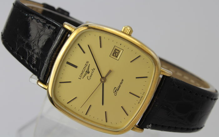 Longines - 18kt Gold Plated  - Swiss Made - Mint Condition - Férfi - 1990-1999