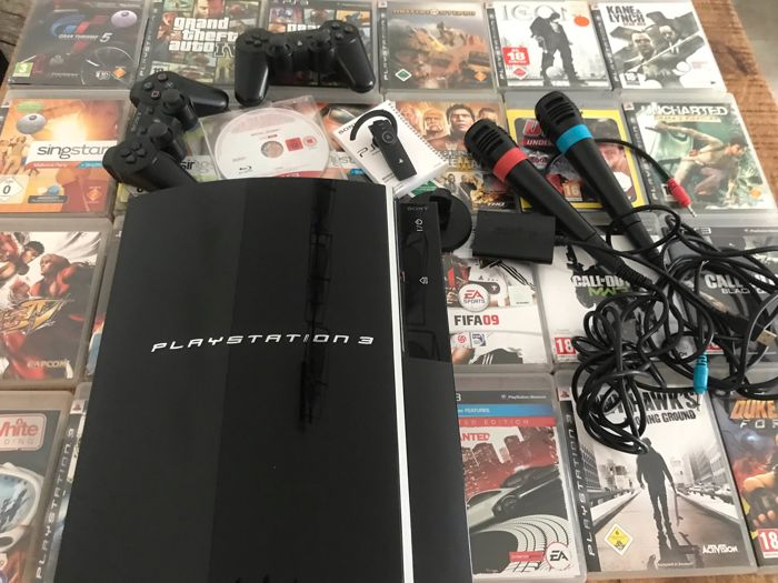 Sony PlayStation 3 60GB with 25 games