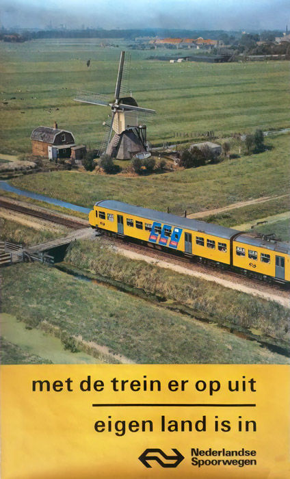 Anonymous - Go out by train, NS - 1970