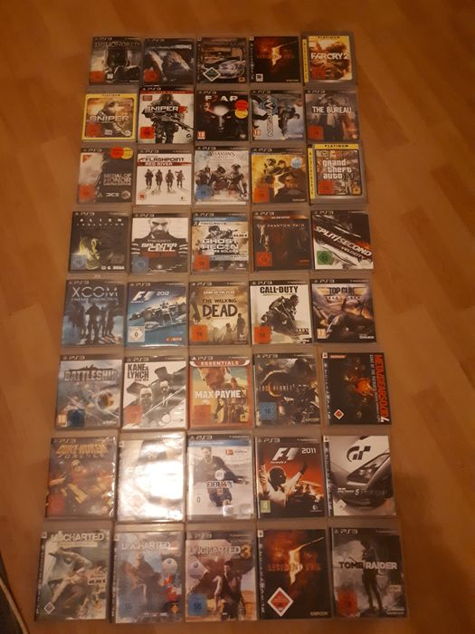 40 PS3 Games