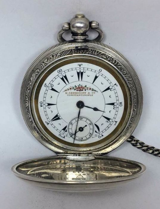 Serkisoff Constantinople ottoman - pocket watch- NO RESERVE PRICE- men -1850-900