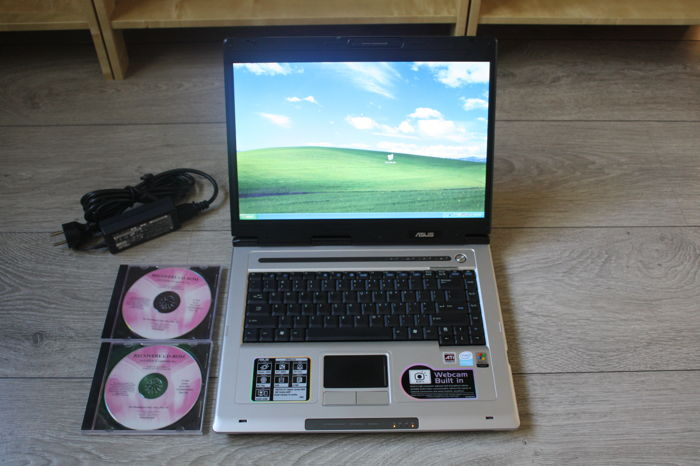 "Asus Z92R notebook - Intel Celeron M 1.6Ghz CPU, 1GB RAM, 60GB HDD, 15.4"" WideScreen, Windows XP - with original charger & software"