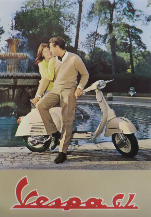 Anonymous - Vespa GL - 1963