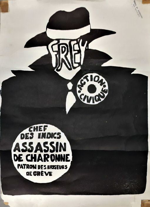 Frey - Assassins de charonne - 1968
