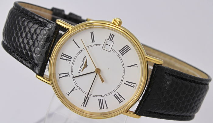 Longines - L.4.636.2 - 18kt Gold Plated - Original Box - Swiss Made - Mint Condition - Férfi - 1990-1999