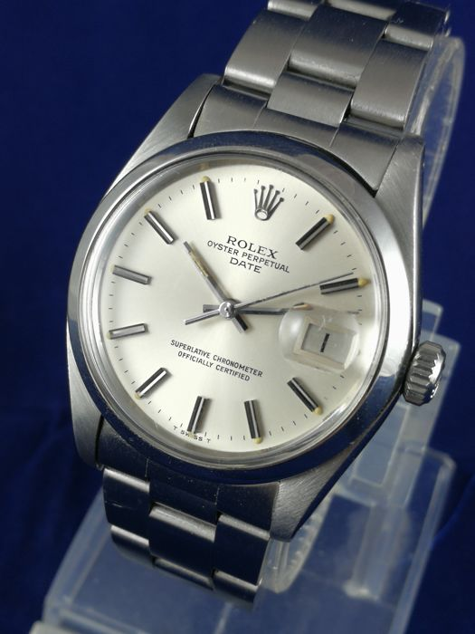 Rolex -  Oyster Perpetual Date - 1500 - Hombre - 1980-1989
