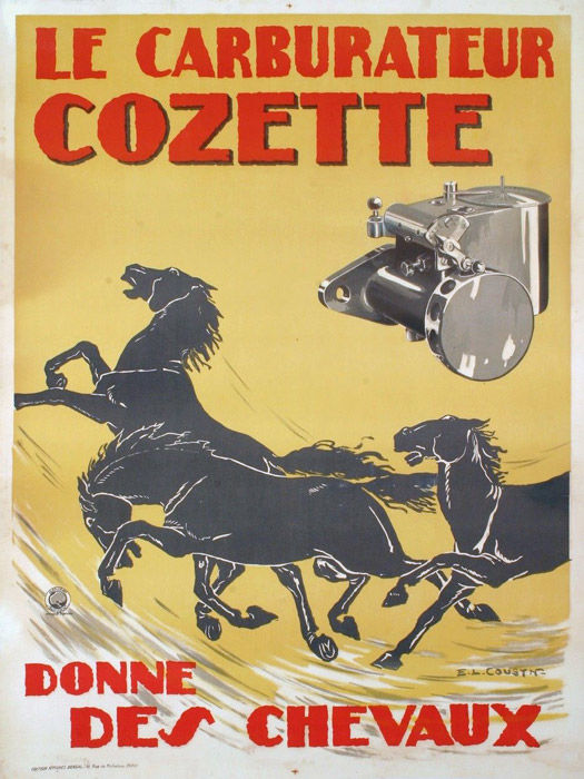 E.L. Cousyn - 'Carburateur Cozette' - Circa 1930