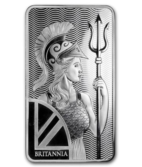 The Royal Mint - 10 oz Silver - Britannia - .999 - Minted -Sealed
