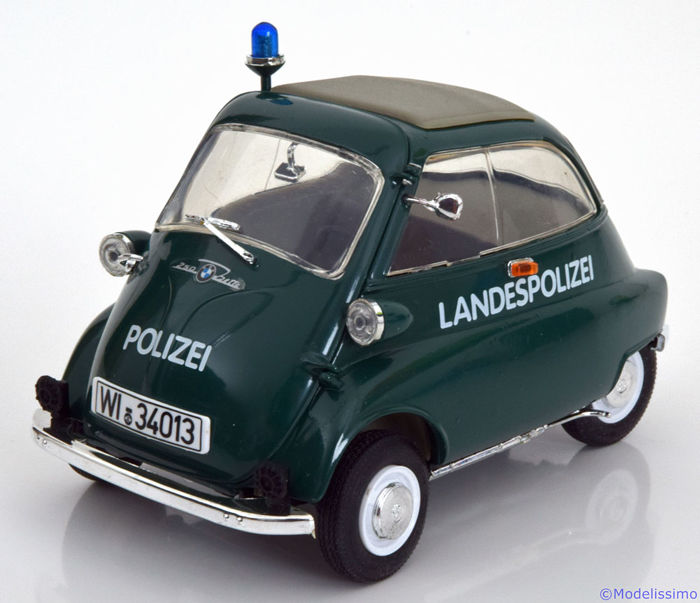 revell 1 18 revell bmw isetta 250 polizei catawiki. Black Bedroom Furniture Sets. Home Design Ideas