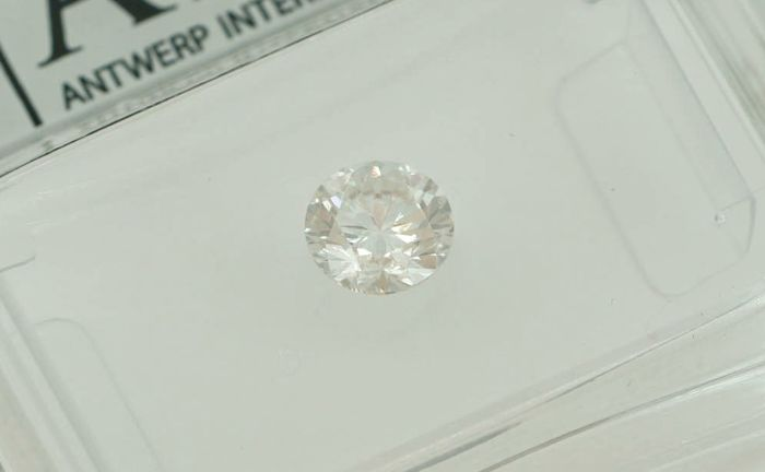 Diamant - 0.48 ct - Brillant - D (farblos) - SI1