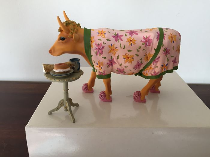 Cow Parade Cowparade. Early Show. Retired - Sculpture - Polyresin