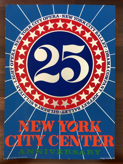 Robert Indiana - New York City Center Anniversary