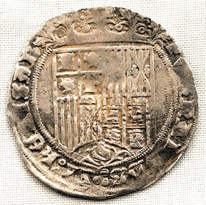 Spain - 1 Real - Burgos - Catholic Monarchs (1474-1504) - VERY SCARCE - Silver