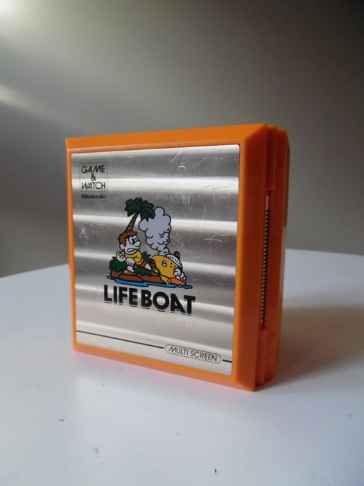 Game & Watch -  Lifeboat TC-58 – 1983