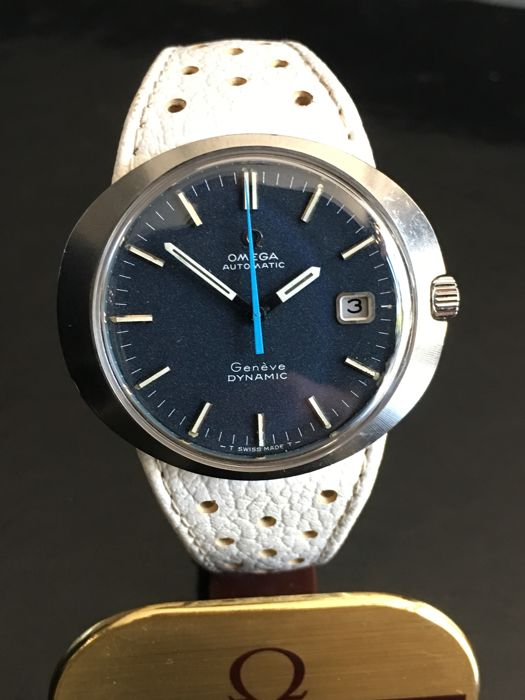Omega - Dynamic  Blue and White - Unisex - 1980-1989