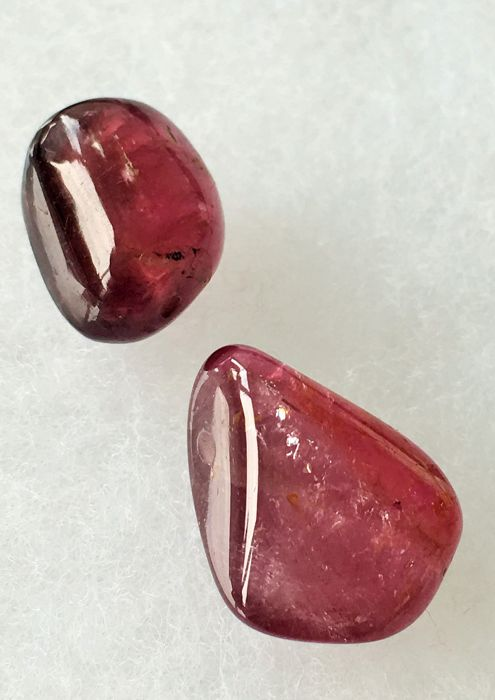 Tourmaline 44.45 cts total 2 pieces.