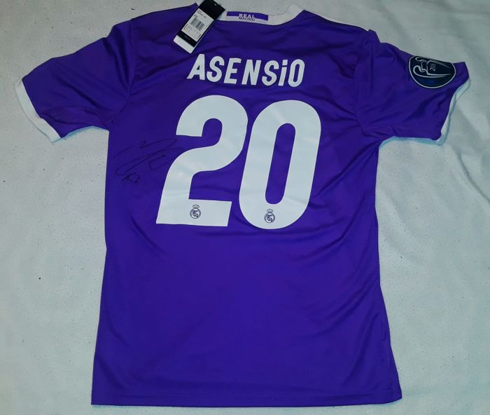 4b680249a Real Madrid - Spanish Football League - Marco asensio - Jersey ...