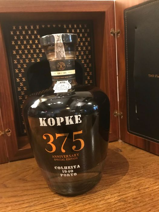 "1940 Colheita Port - Kopke ""375"" - anniversary limited edition"