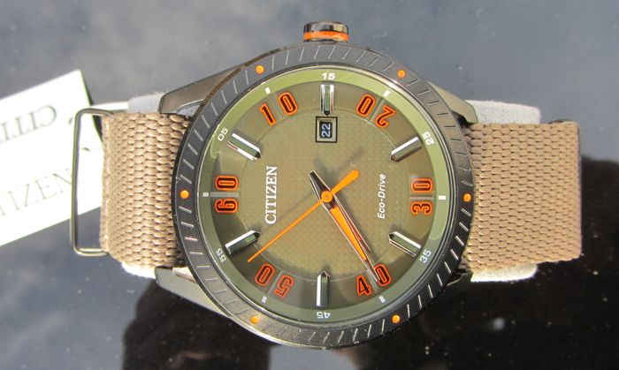 "Citizen - Eco Drive Military ""Tough"" Watch US Homemarket - BM6995-01X  - Homme - 2011-aujourd'hui"