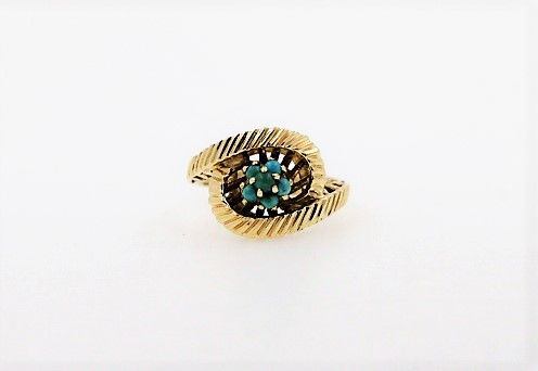 18 kt. - Ring Turquoise