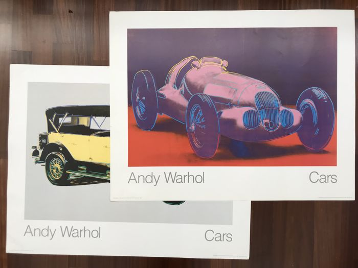 Andy Warhol - Mercedes Benz - Cars