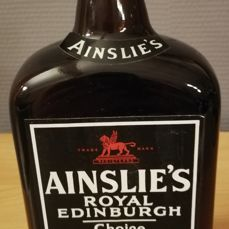 Ainslie's Royal Edinburgh Whisky bottled 1978