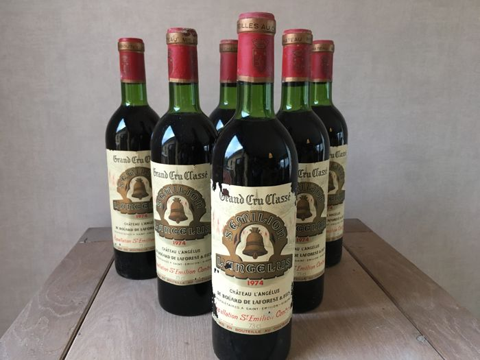 1974 Chateau Angelus, Saint-Emilion Grand Cru - 6 bottles