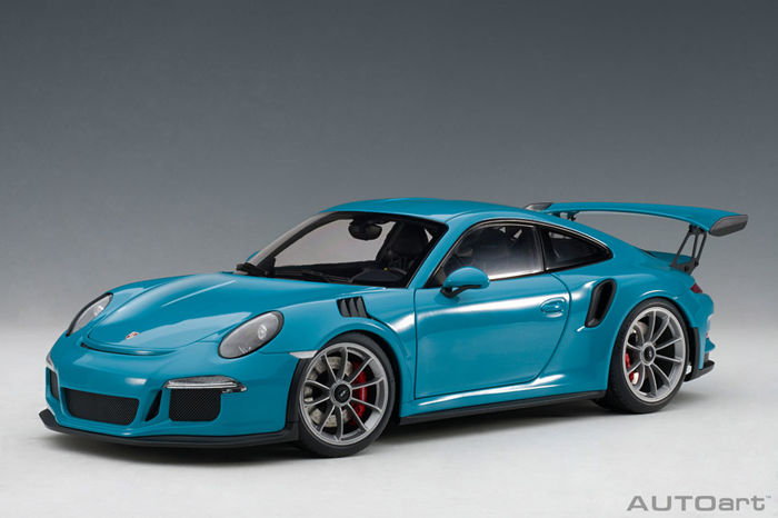Autoart , 118 , Porsche 911 , Gt3 RS MIAMI BLUE , Catawiki