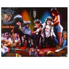 Rolling Stones Book Forty Licks 2cd 2 Caricatures Catawiki