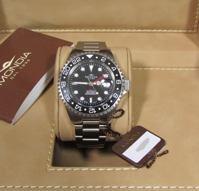 Mondia - Icon Swiss Automatic GMT - Heren - 2011-heden