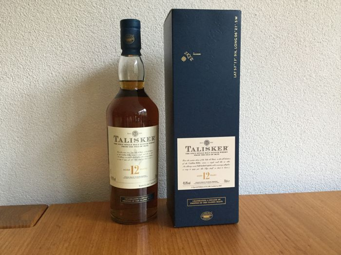 Talisker 12 years old  Friends of the Classic Malts - Original bottling - 0.7 Ltr