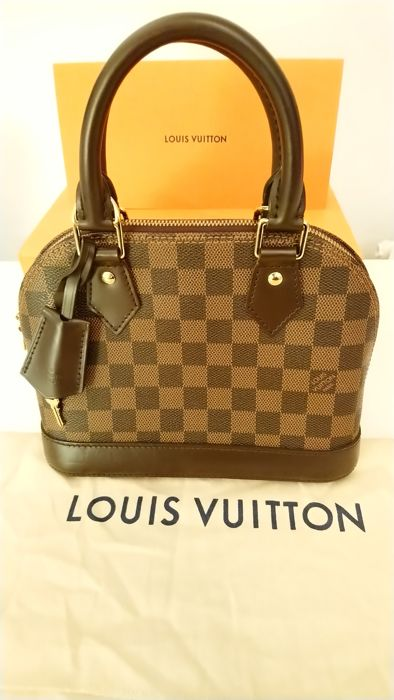 317d8df3daf4 Louis Vuitton - Alma BB Damier Ebene Handbag - Catawiki