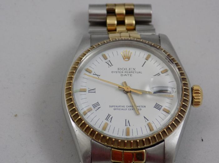Rolex - Oyster Perpetual Date - Ref. 1505 - Hombre - 1970-1979