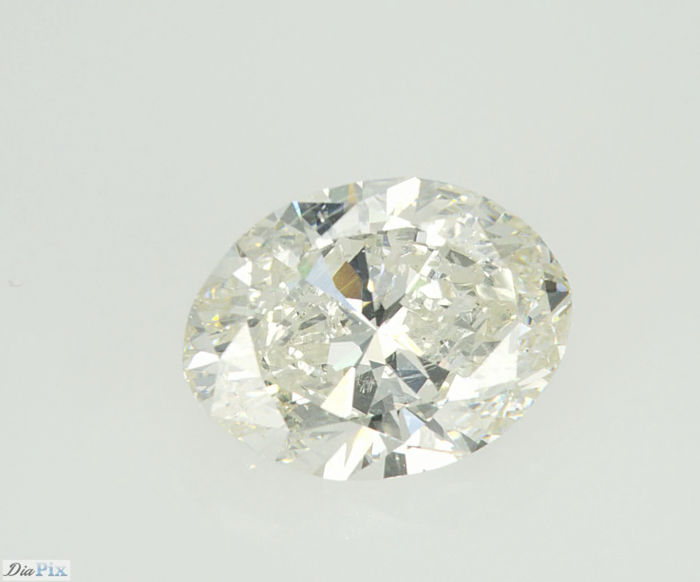 5.01 ct Beautiful Oval Shape Cut Diamond J SI2   Serial# 426-original-image-10X