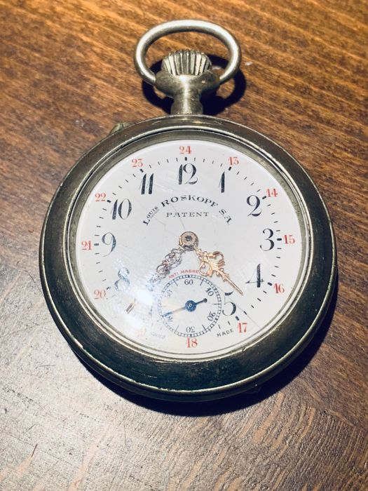 Roskopf - S.A. patent - pocket watch - NO RESERVE PRICE - Unisex - 1901-1949