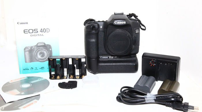 A particularly beautiful Canon EOS 40d body with Canon