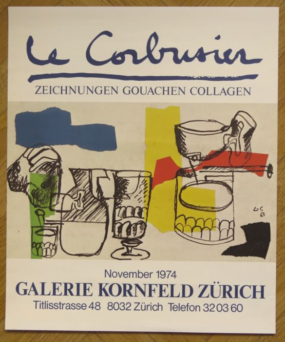 Le Corbusier - Dessins Gouaches Collages - Zurich - 1974