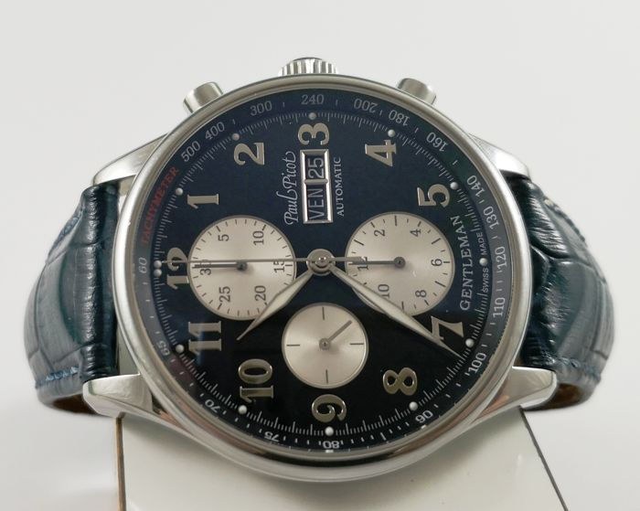 Paul Picot - Gentleman Chronograph Limited Edition - Ref. 2027 SG - Hombre - 1990-1999